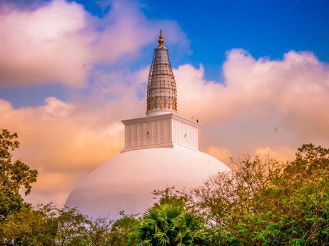 Thuparamaya Temple Anuradhapura
